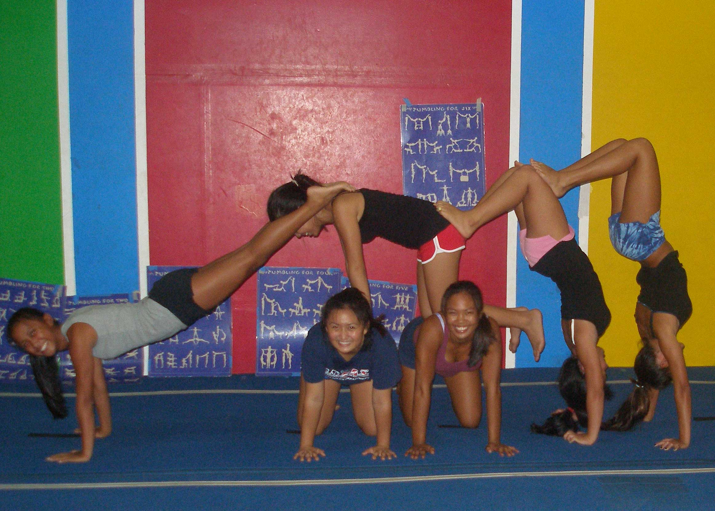 Thursday Night Tumbling for Cheerleaders | Kauai Gymnastics Academy