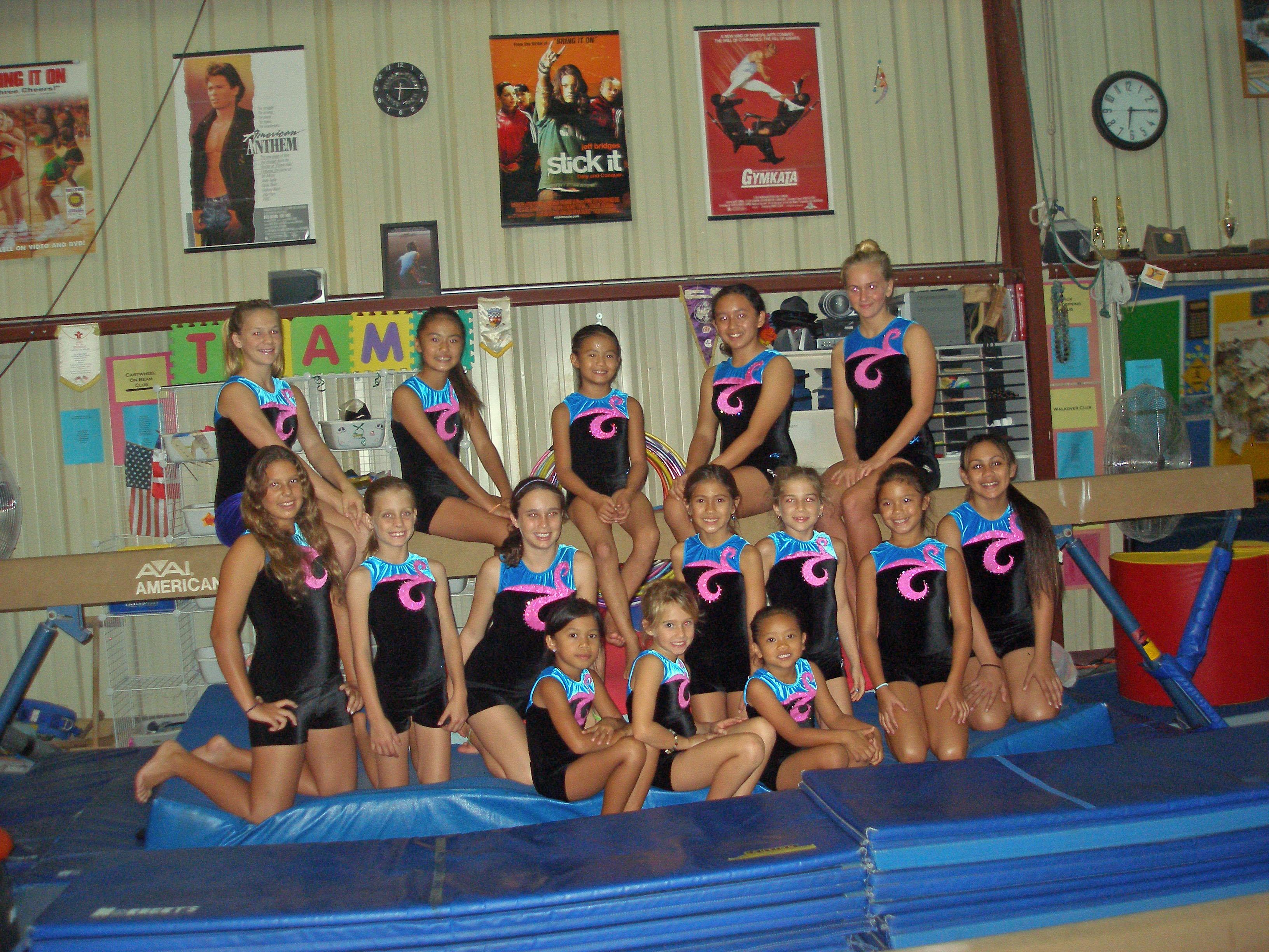 2007 Exhibition at Kukui Grove   Kauai Gymnastics Academy