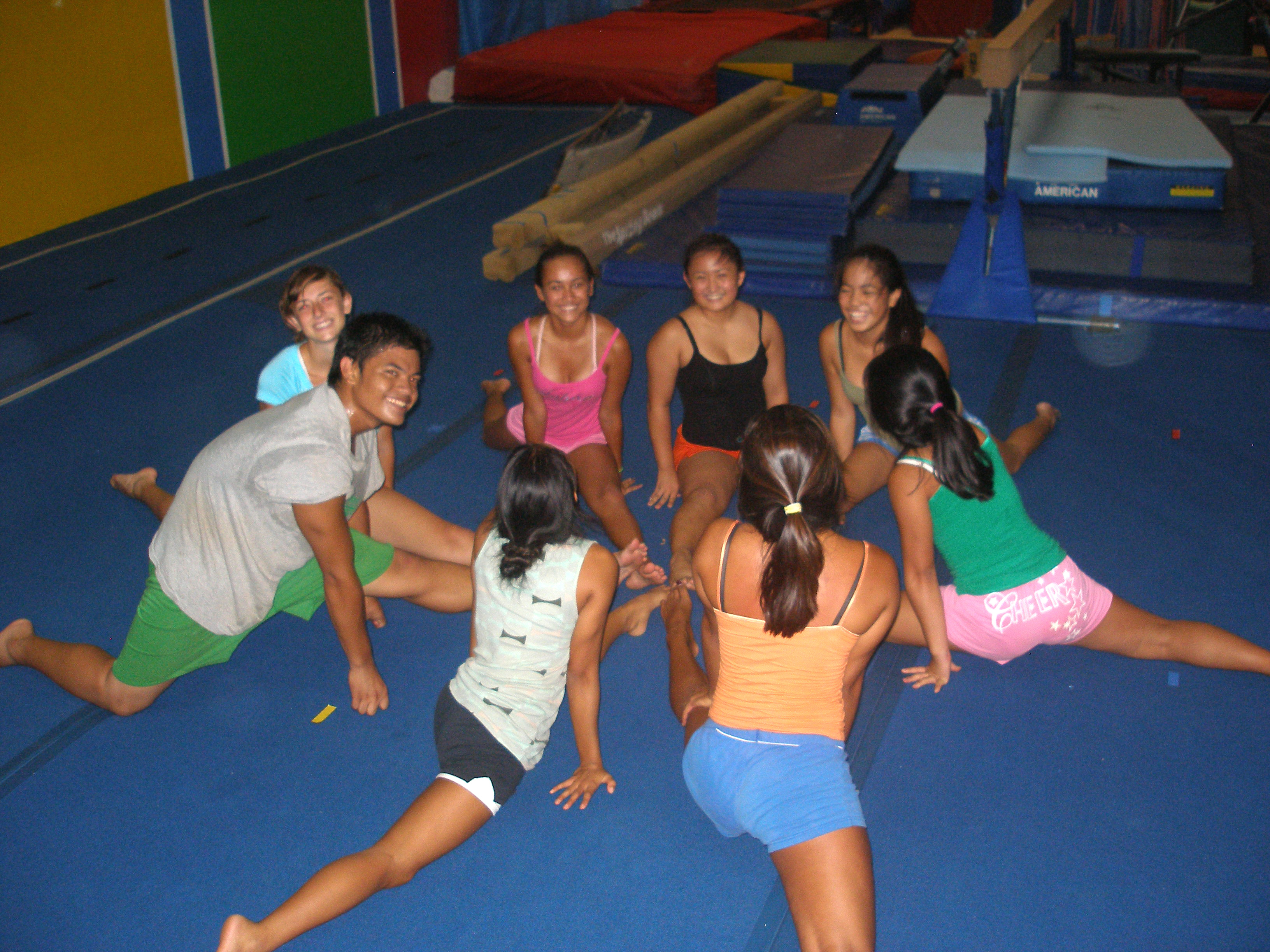 Thursday Night Tumbling for Cheerleaders | Kauai Gymnastics Academy